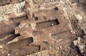 Aldwark excavations shot heret: Courtesy of York Archaeological Trust
